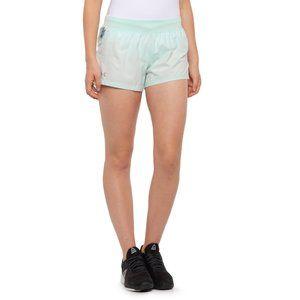 Under Armour NWT Seaglass Blue MINI Running Shorts